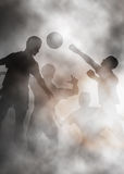 Football action Stock Image