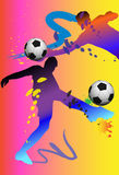 Football action Royalty Free Stock Image