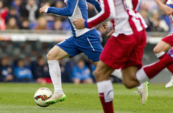 Football action Stock Images