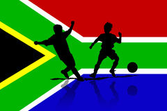 Football in Africa Royalty Free Stock Photo