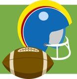 Football américain illustration de vecteur