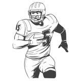 Football2 américain Photographie stock libre de droits