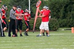 Football américain de lycée Photos libres de droits