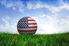 Football in america colours Royalty Free Stock Photo