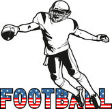 Football american Royalty Free Stock Image