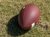 Football. American football with white band Stock Photo