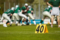 Football americano Immagini Stock Libere da Diritti