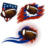Football americano Immagini Stock