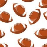 Football americano Fotografia Stock Libera da Diritti