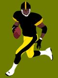 Football americano 5 Fotografia Stock Libera da Diritti