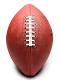Football americano su bianco Immagine Stock Libera da Diritti