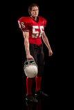 football amerykański gracza Obrazy Stock