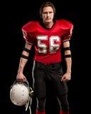 football amerykański gracza Zdjęcia Royalty Free
