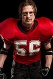 football amerykański gracza Obraz Royalty Free