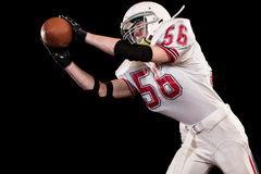 football amerykański gracza Zdjęcia Stock