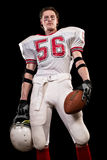 football amerykański gracza Obraz Stock