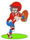 football amerykański gracza Fotografia Royalty Free