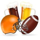 football amerykański plakat Zdjęcia Stock