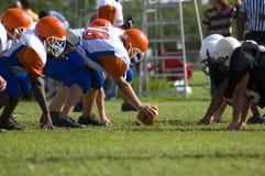 Football américain - jeunesse Images stock