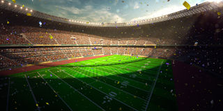 Football Arena Stadium Day championship win Royalty Free Stock Photos