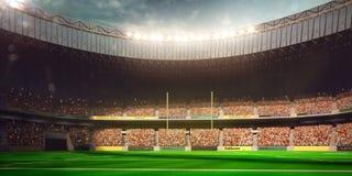 Football Arena Stadium Day Royalty Free Stock Photo