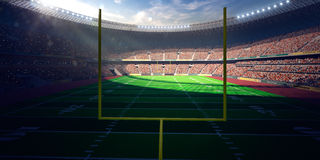 Football Arena Stadium Day Stock Photography