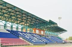 Football Arena, Tribune Stock Image