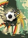 Football  art Royalty Free Stock Image
