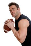 Football athlete Royalty Free Stock Photos