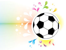 Football attributes on the wall Royalty Free Stock Photo