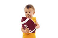 Football Baby stock photo