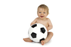 Football Baby Stock Image