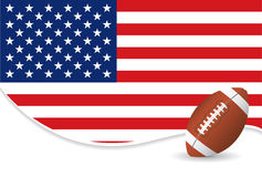 Football background Stock Photography