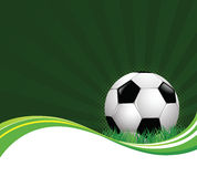 Football Background. High details illustration of football background Royalty Free Stock Image
