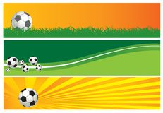 Football background Royalty Free Stock Photos