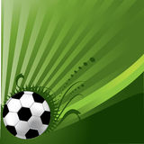 Football Background. Abstract football soccer illustration background Royalty Free Stock Photo