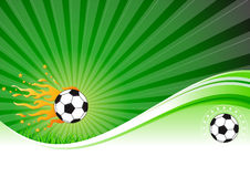 Football Background Stock Photo