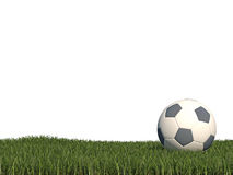 Football background 3d cg Royalty Free Stock Images