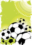 Football background. Abstract football background.Vector illustration Stock Photo