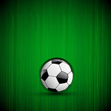 Football Background With Ball Royalty Free Stock Photography