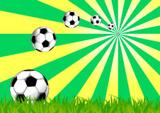 Football background Stock Image