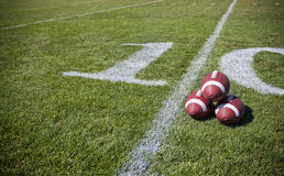 Football Background Horizontal Stock Photo