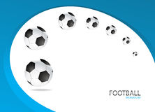Football Background Template Vector Design Royalty Free Stock Photo