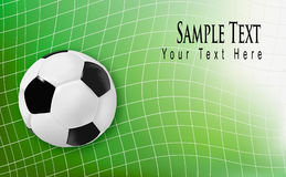 Football background. Vector. Stock Image