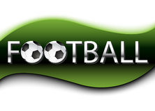 Football Background. Vector Royalty Free Stock Photos