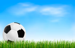 Football background. Royalty Free Stock Photos