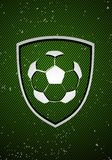Football badge Stock Photography