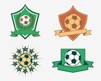 Football badge Stock Images