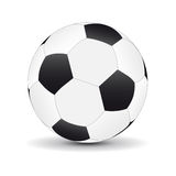 Football ball. On white background Royalty Free Stock Photo