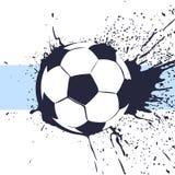 Football ball background Royalty Free Stock Photo